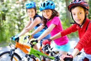 classe-nature-enfants-vélo